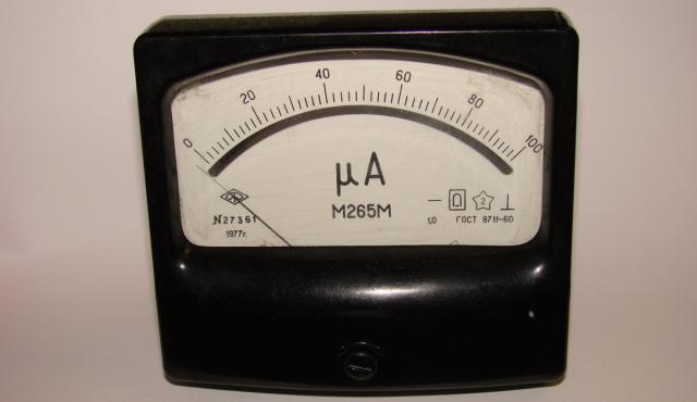 Микроамперметр М265М б/у