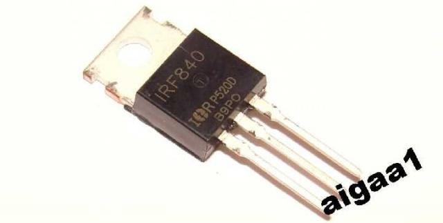 Транзистор полевой IRF840
