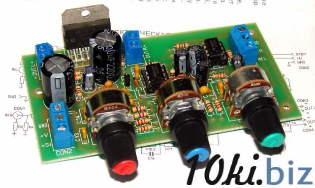Стерео УНЧ 2х30W TDA7377 с активным темброблоком Устройства обработки звукового сигнала на Электронном рынке Украины