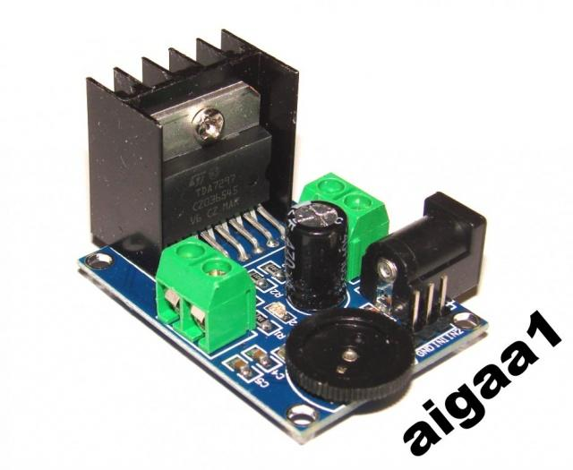 Усилитель стерео 2 х 15 Вт на TDA7297