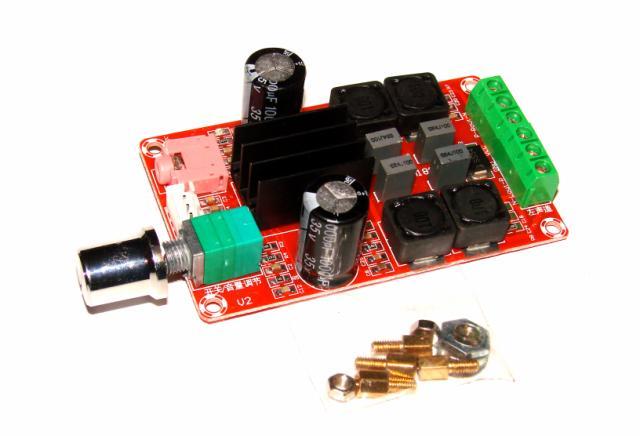 Стерео усилитель мощности 2x50 Вт на TPA3116D2