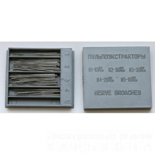 Пульпоэкстракторы (100шт) - Эндоинструменты для стоматологических клиник на рынке Барабашова