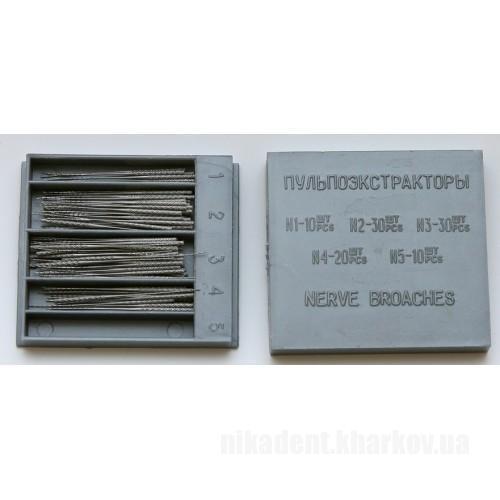 Фото Для стоматологических клиник, Эндоинструменты Пульпоэкстракторы (100шт)