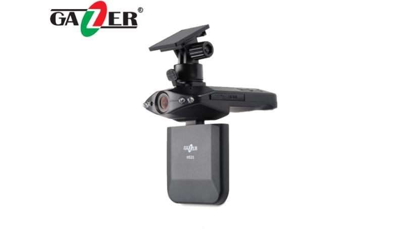 Видеорегистратор Gazer H521 + SD 4Gb