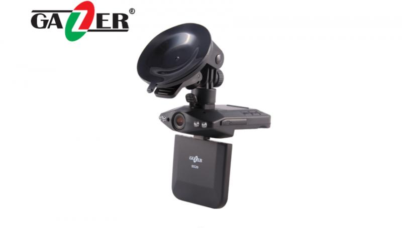 Видеорегистратор Gazer S520 + SD 4Gb