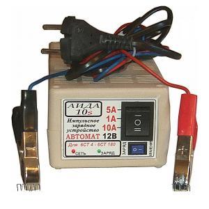 Фото  Аида 10s (super): зарядное устройство для авто аккумуляторов 4-180 Ач