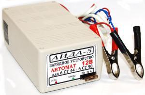 Фото  Аида 5: зарядное устройство для авто аккумуляторов 32-90 Ач