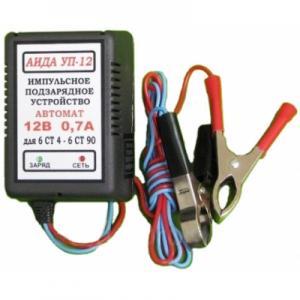 Фото  Аида УП-12: зарядное устройство для авто аккумуляторов 4-20 Ач