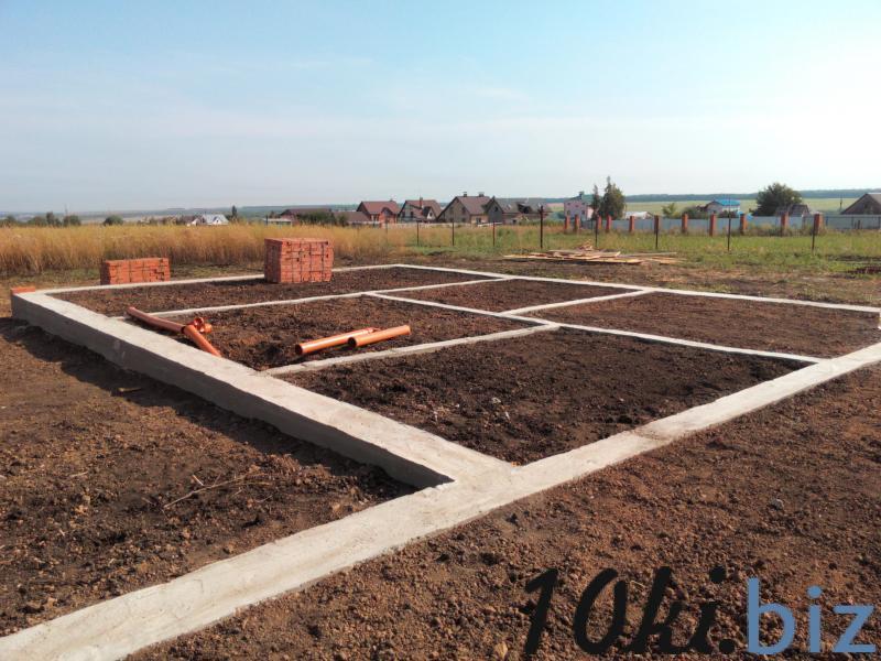 Фундаментные работы Услуги по строительству в Самаре