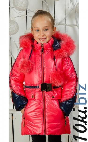 0027/2 Зимнее пальто Барбара д/дев(коралл) купить в Ростове - Пальто для девочек