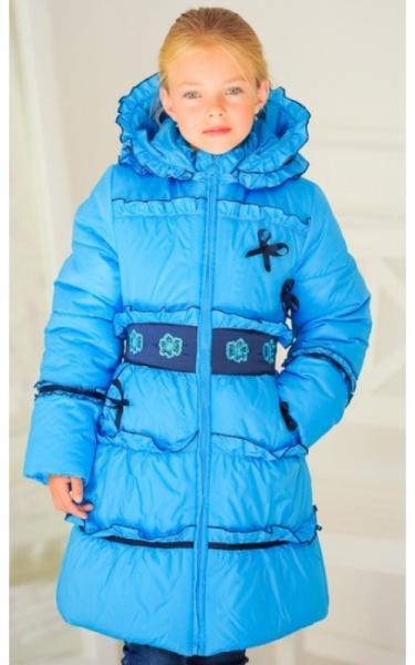 0531 Пальто зимнее КРИСТИНА (голубой)