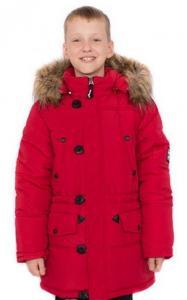 Фото Верхняя одежда (зима) 0759 Парка зимняя Корней д/мальч. (красный)