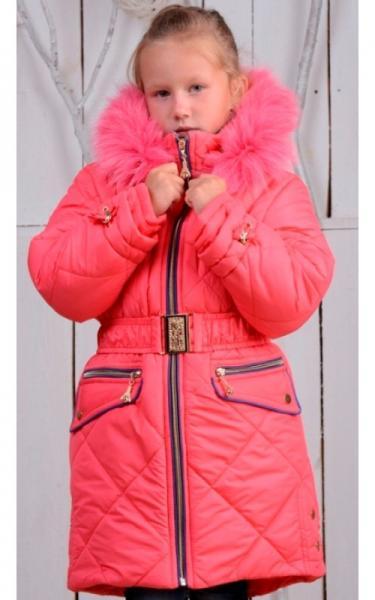 0836 Зимнее пальто ТАНЯ (коралл)