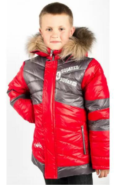 10422 Куртка зимняя д/мальч АРТУР (красный)