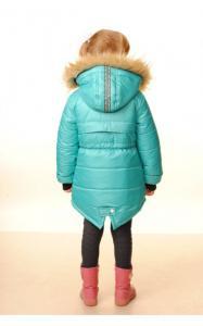 Фото Верхняя одежда (зима) 12013 Зимняя куртка СИЛЬВИЯ д/дев.(голубой)