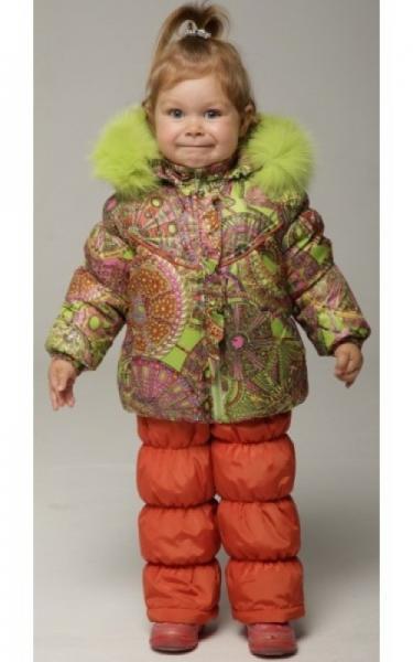 12113 Комплект(зима) ЯНОЧКА (салатовый+морковный)