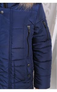 Фото Верхняя одежда (зима) 12199 Куртка АРНОЛЬД зимняя д/мал(джинс)