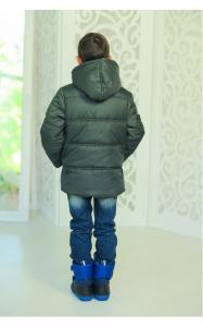 Фото Верхняя одежда (зима) 12202 Куртка ЭДИК зимняя д/мал(хаки)