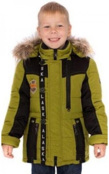 6910 Куртка САТУРН зимняя д/мал (хаки)