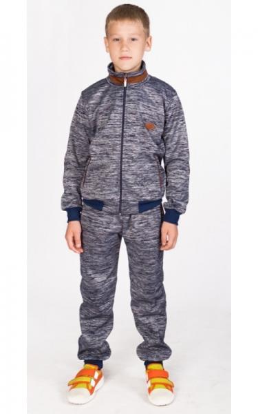 УК08 Спорт.костюм утепленный (т.серый)
