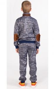 Фото Спортивная одежда УК08 Спорт.костюм утепленный (т.серый)