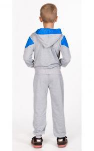 Фото Спортивная одежда ЛК009 Костюм спортивный д/мал.(св.серый+синий)