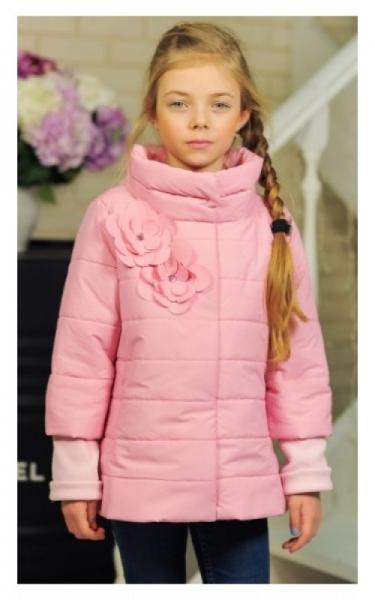 30-035 Куртка ЛАЙМА демисезонная д/дев (св.розовый)