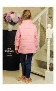 Фото Верхняя одежда (весна-осень) 30-035 Куртка ЛАЙМА демисезонная д/дев (св.розовый)