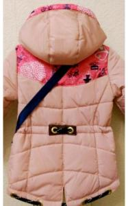 Фото Верхняя одежда (весна-осень) 0037 Парка ВАРЯ +сумка в подарок (розовый)