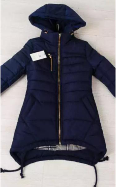 0131 Куртка ТАМИЛА подростковая (т.синий)