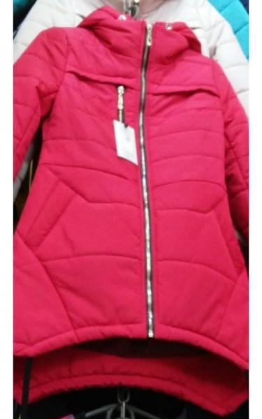 0135 Куртка Тамила подростковая(красный)