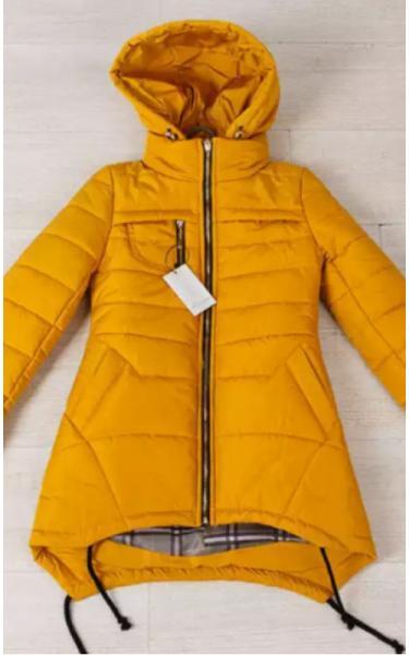 0133 Куртка ТАМИЛА подростковая (горчица)