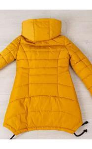 Фото Верхняя одежда (весна-осень) 0133 Куртка ТАМИЛА подростковая (горчица)