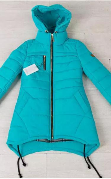 0134 Куртка ТАМИЛА подростковая (бирюза)