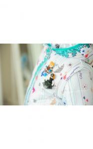 Фото Верхняя одежда (весна-осень) 32-55 Куртка-жилет ЗОЯ (белый)