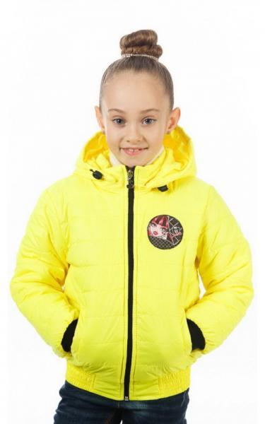 630932 Куртка ЯСЯ д/дев демисезонная (желтый)