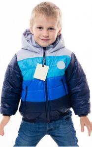Фото Верхняя одежда (весна-осень) 0921 Парка СЕВА демисезонная (т.синий+электрик+серый)