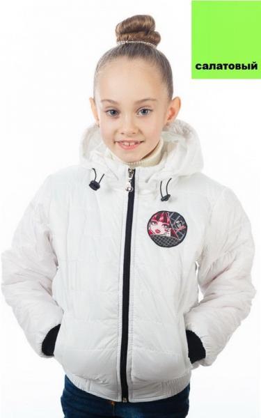63091 Куртка ЯСЯ д/дев демисезонная (салатовый)