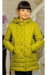 Фото Верхняя одежда (весна-осень) 0275 Куртка СОНЯ деми (оливка)