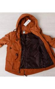 Фото Верхняя одежда (весна-осень) 20012 Парка ОЛЕЖКА демисезонная (кирпичный)