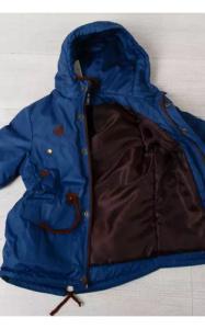 Фото Верхняя одежда (весна-осень) 20010 Парка ОЛЕЖКА демисезонная (джинс)