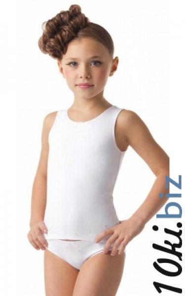 2004 Комплект майка+трусики 100% хлопок (белый) Комплекты нижнего белья детские для девочек на рынке Атлант в Ростове на Дону
