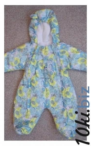 9031691  Комбинезон ЗАЯ деми на 6-12 мес (бирюза+желтый) Комбинезоны для новорожденных в России