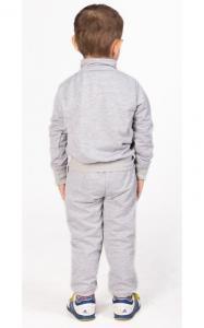 Фото Спортивная одежда СК14 Спорт. костюм (св.серый+зеленый)
