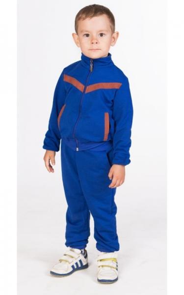 СК13 Спорт. костюм (электрик+коричневый)