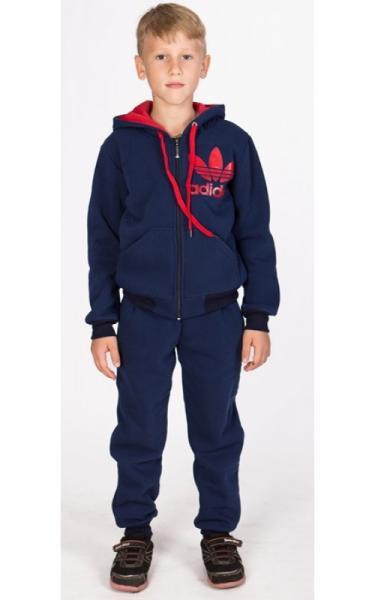 УК14 Спорт.костюм утепленный (т.синий)