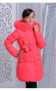 Фото Верхняя одежда (зима) 12230 Куртка ЮЛЯ зима д/дев(коралл)