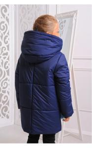 Фото Верхняя одежда (зима) 12189 Куртка ФЕЛИСИЯ зима д/дев(синий)