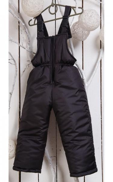 000101 Полукомбинезон Сима зимний (черный)