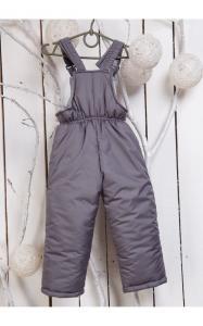 Фото Верхняя одежда (зима) 000401 Полукомбинезон Сима зимний (серый)